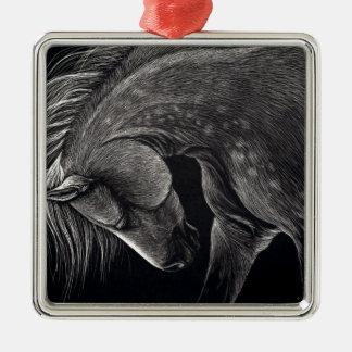 Dappledprint Metal Ornament