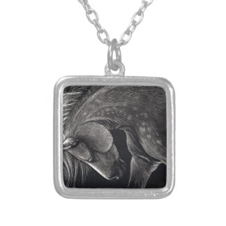 Dappledprint Silver Plated Necklace