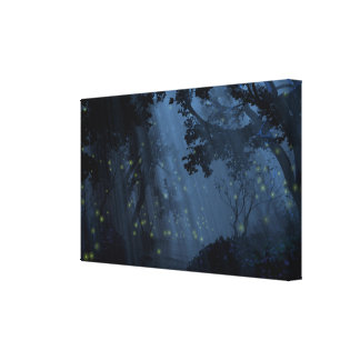 Dapplewood (Night) Canvas Print