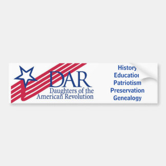 DAR Bumper Sticker