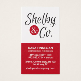 Dara Finnegan Business Card