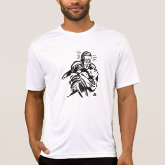 Darce Choke Retro Rash guard by Lee T-Shirt