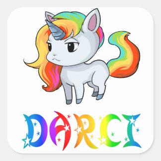 Darci Unicorn Sticker