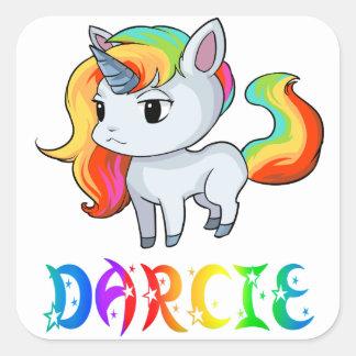 Darcie Unicorn Sticker