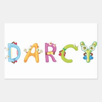 Darcy Sticker