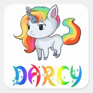 Darcy Unicorn Sticker