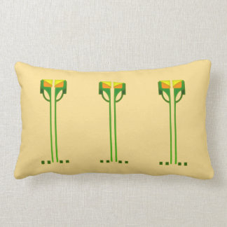 Dard Hunter Stencil Pillow
