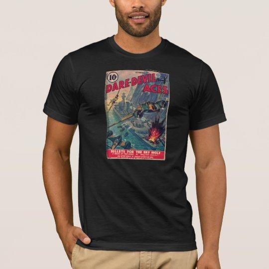 Dare Devil Aces 1941 Pulp Magazine Cover T-Shirt