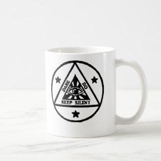 Dare. Do. Keep Silent! The Sorceror's Code! Coffee Mug