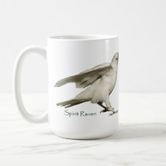 DARE TO BE DIFFERENT! Rare White Raven Photo Mug