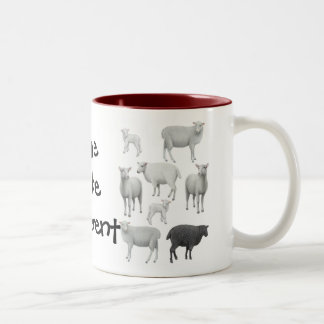Dare to be Different Sheep Mug