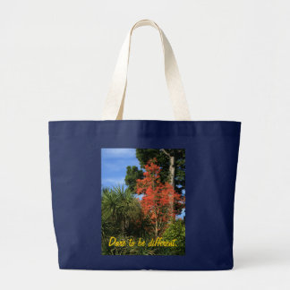 Dare to be Different - Show off your true colors Large Tote Bag