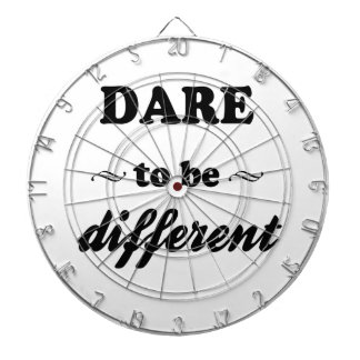 Dare To Be Differernt Dartboard
