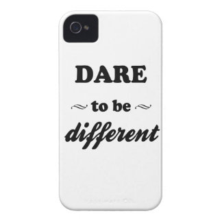 Dare To Be Differernt iPhone 4 Covers