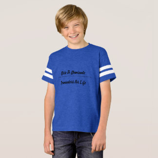 Dare To Dominate Football T-Shirt