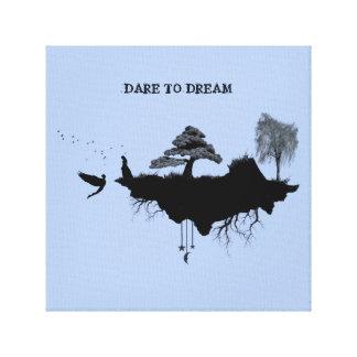 DARE TO DREAM CANVAS30.48cm x 30.48cm, 3.81cm Canvas Print