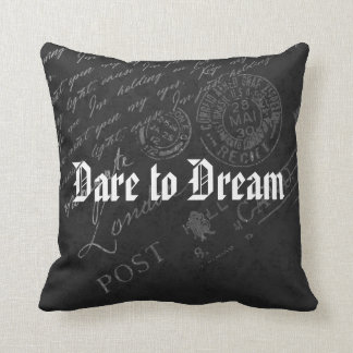 Dare to Dream (Personalize Optional) Throw Pillow