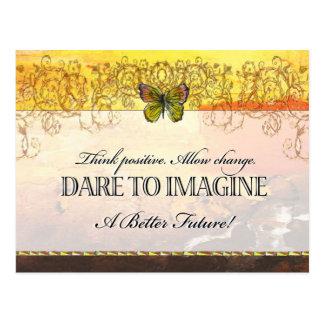 Dare to imagine - Postcard