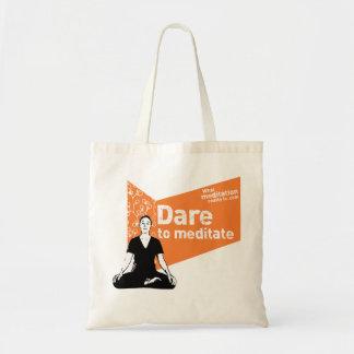 Dare to meditate | Bag