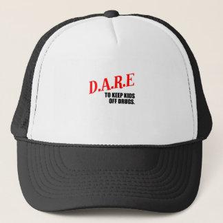 dare trucker hat