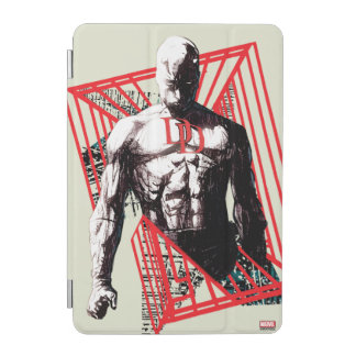 Daredevil Abstract Sketch iPad Mini Cover