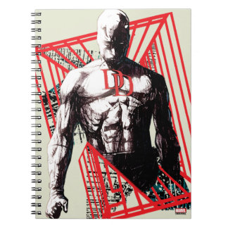 Daredevil Abstract Sketch Notebook