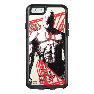 Daredevil Abstract Sketch OtterBox iPhone 6/6s Case