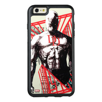 Daredevil Abstract Sketch OtterBox iPhone 6/6s Plus Case