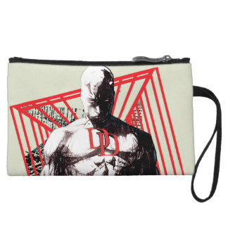 Daredevil Abstract Sketch Wristlet