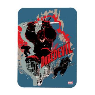 Daredevil Action Graphic Magnet