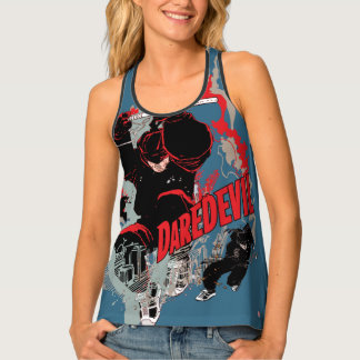 Daredevil Action Graphic Tank Top
