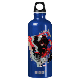 Daredevil Action Graphic Water Bottle