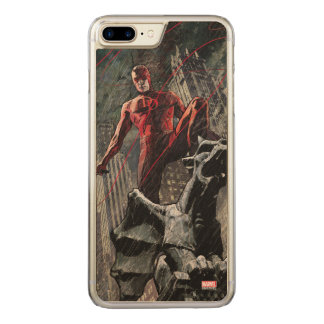 Daredevil Atop A Gargoyle Carved iPhone 8 Plus/7 Plus Case