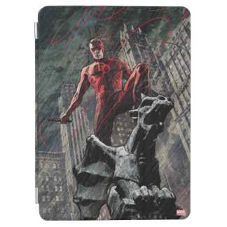 Daredevil Atop A Gargoyle iPad Air Cover