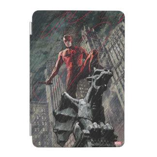 Daredevil Atop A Gargoyle iPad Mini Cover
