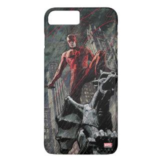 Daredevil Atop A Gargoyle iPhone 7 Plus Case