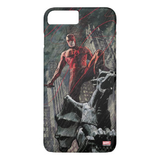 Daredevil Atop A Gargoyle iPhone 8 Plus/7 Plus Case