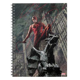 Daredevil Atop A Gargoyle Note Books