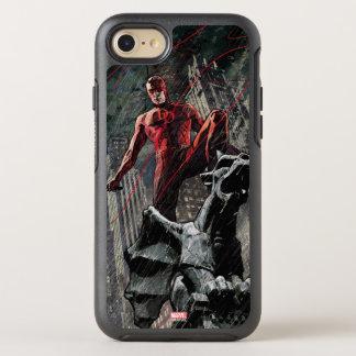Daredevil Atop A Gargoyle OtterBox Symmetry iPhone 8/7 Case