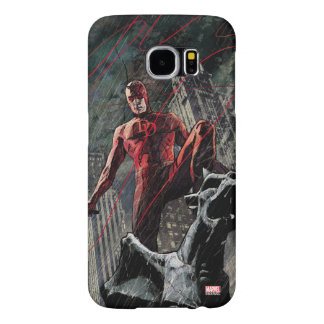 Daredevil Atop A Gargoyle Samsung Galaxy S6 Cases