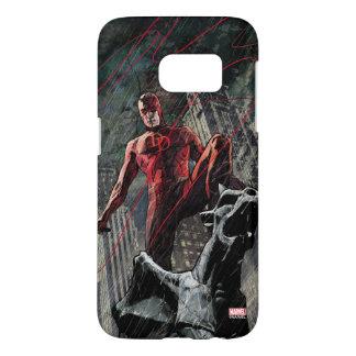 Daredevil Atop A Gargoyle Samsung Galaxy S7 Case