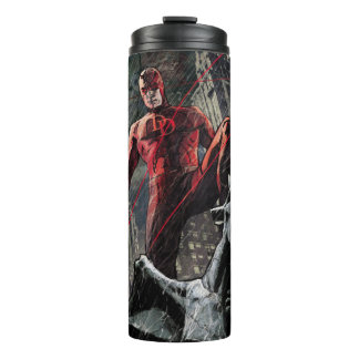 Daredevil Atop A Gargoyle Thermal Tumbler