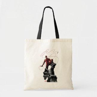 Daredevil Atop A Gargoyle Tote Bag