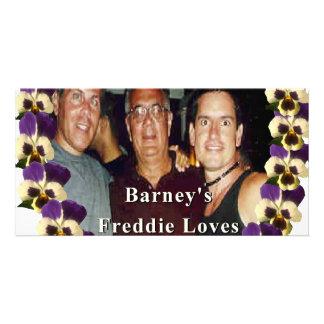 DAREDEVIL BARNEYGOod friends#2 Custom Photo Card