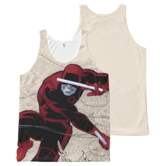 Daredevil City Of Sounds All-Over-Print Tank Top