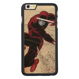 Daredevil City Of Sounds Carved Maple iPhone 6 Plus Case