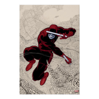 Daredevil City Of Sounds Poster