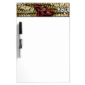 Daredevil Deafening Explosions Dry Erase Whiteboard