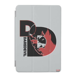 Daredevil Face In Logo iPad Mini Cover