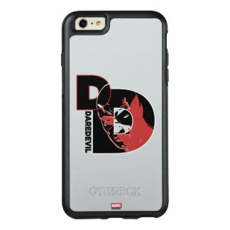 Daredevil Face In Logo OtterBox iPhone 6/6s Plus Case